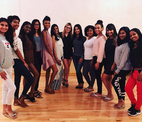 NYC Pageant Coach with Miss Universe Guyana contestants